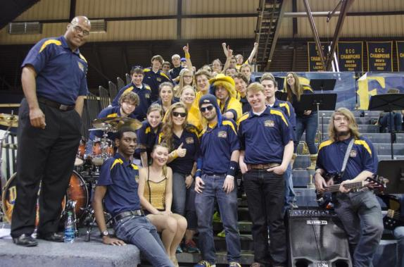 me with drexel band Feb. '14